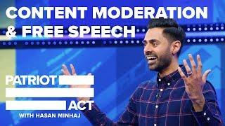 Content Moderation And Free Speech   Patriot Act with Hasan Minhaj   Netflix