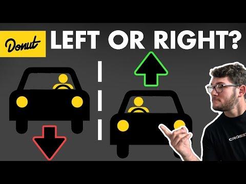Proč jezdíme vpravo?