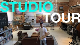 STUDIO TOUR 2020! - My New Painting Space!
