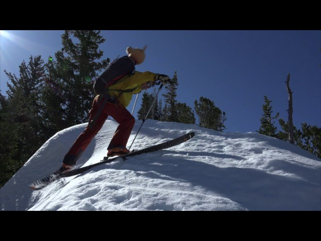 Ski Mountaineering Skills with Andrew McLean -  Skinning