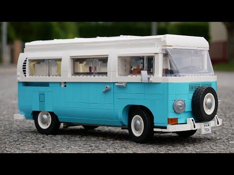 Vidéo LEGO Creator 10279 : Le camping-car Volkswagen T2