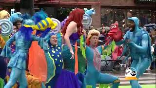 NCT performs Under the Sea at the Nashville Christmas Parade 2018