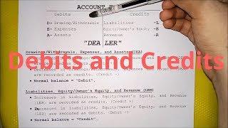 Basic Accounting- Debits and Credits (Part 1)