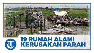 Angin Puting Beliung Terjang Ogan Ilir, 19 Rumah Rusak Parah, Warga Terdampak Berharap Bantuan