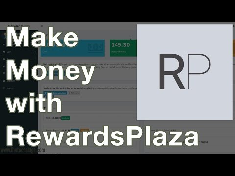 Make $1 a Day with RewardsPlaza – Make Money Online