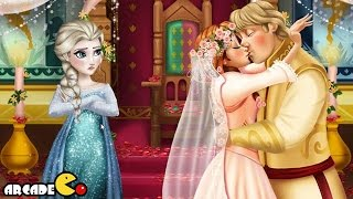 Disney Frozen Anna Anna and Kristoff Kiss - Disney Frozen Games