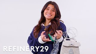 What's In Nessa Barrett's Bag | Spill It | Refinery29