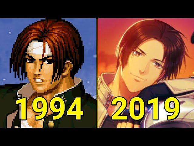 Evolution of The King of Fighters Games 1994-2019