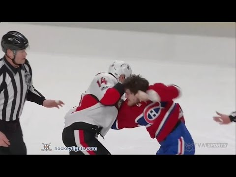 Andrew Shaw vs. Alexandre Burrows