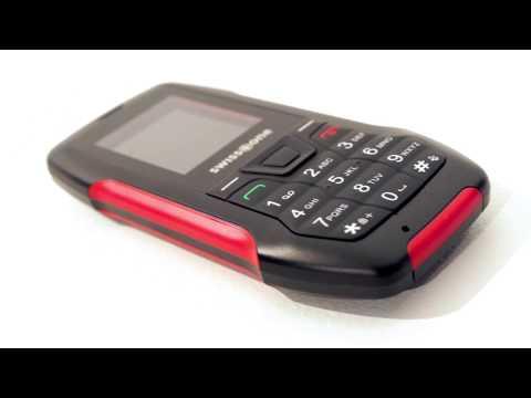 Outdoor-Handy für Senioren Swisstone SX 567 Rot