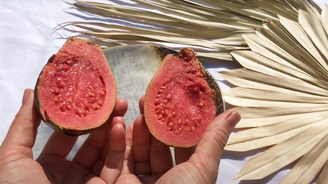 Гуава с розовой мякотью: видео 1 - FreshMart
