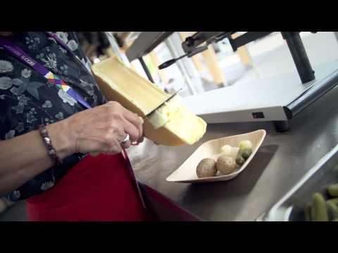 Swiss Pavilion - Raclette take-away