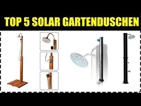TOP 5 GARTEN SOLARDUSCHEN ★ Solar Außendusche kaufen ★ Camping Solardusche Test ★ Solardusche Camper