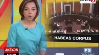Ano Nga Ba Ang Writ Of Habeas Corpus?