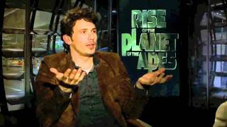 "Джеймс Франко, Scientific American Blogs w/ James Franco on ""Rise of the Planet of the Apes"""