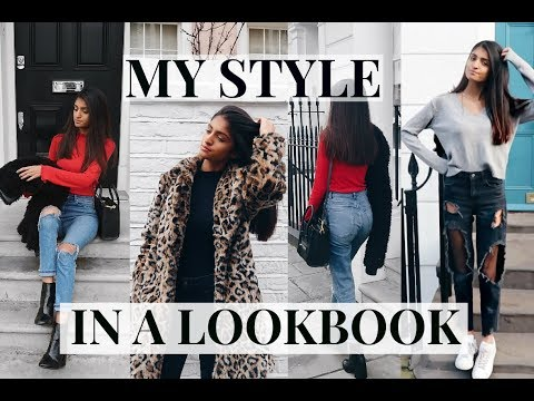 MY STYLE IN A LOOKBOOK: DENIM + FUR COATS | Kim Mann