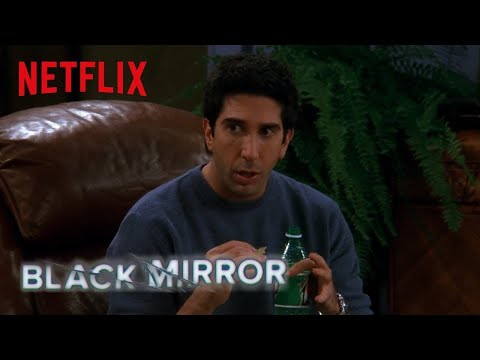 Black Mirror & Friends | The One Where Ross Invents San Junipero | Netflix