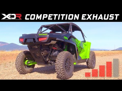 2018-19 Arctic Cat Wildcat XX - XDR Off-Road Competition Single Exhaust System 7103