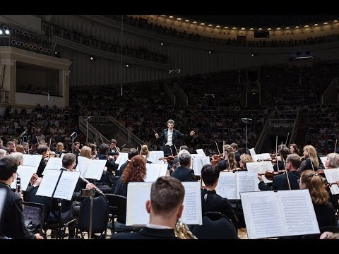 Vladimir Ovodok conducts Moscow Philharmonic Orchestra at the Tchaikovsky Hall in Rimsky Korsakov's Overture to Tsar's Bride – 2017