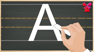 Kids Writing Alphabets | By practicing it, children can write Alphabets | How to write ABCD