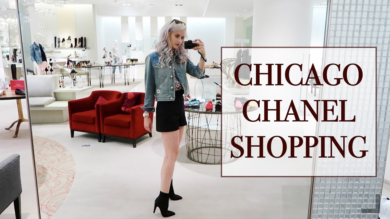 COME SHOPPING AROUND CHICAGO WITH ME | VLOG 18