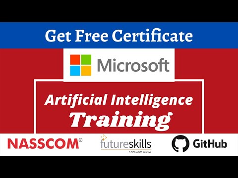 Microsoft Free AI Training With Certificate | Learn Artificial ... - YouTube