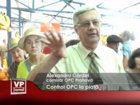 Control OPC la piață