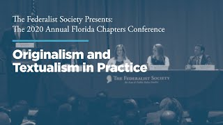 Click to play: Session II: Originalism and Textualism in Practice