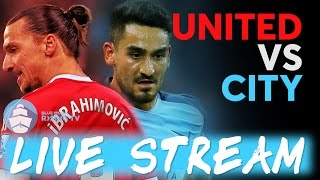 Manchester United Vs Manchester City Live Stream  EFL Cup Team News