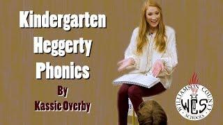 Kindergarten Heggerty Phonics Lesson- Example 1