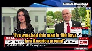 Mike Kelly Enlightens CNN
