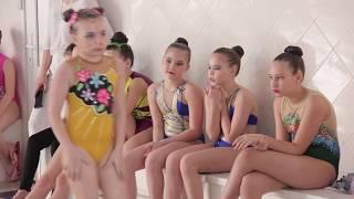 Соревнования по синхронному плаванию в Лазурном!