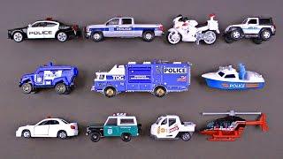 Police Cars for Kids #1 Best Toddler Learning Police Cars, Trucks, Police Vehicles for Children