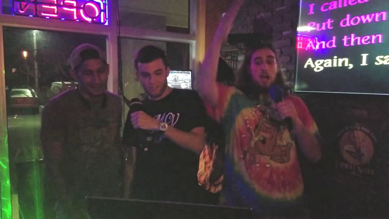 karaoke night - Just A Friend