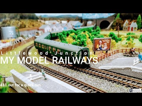 My Model Railways: 411 out for a run (3) | Littlewood Junction
