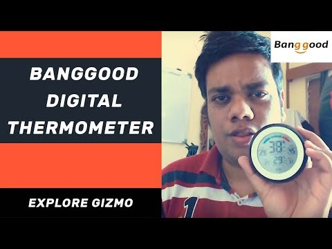 Banggood Multifunctional Digital Thermometer [ Hindi ] | Explore Gizmo