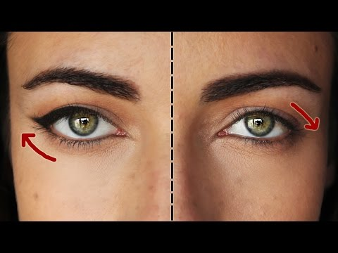 How To: The Perfect Eyeliner For Downturned Eyes | MakeupAndartFreak