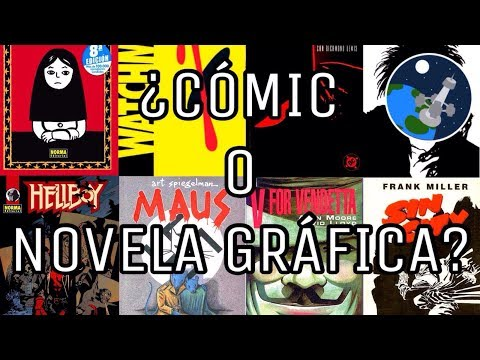 ¿Cuál es la diferencia entre Cómic y Novela Gráfica?