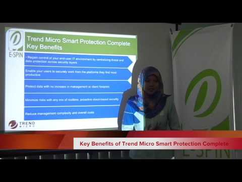 Trend Micro Smart Protection Complete Product Overview
