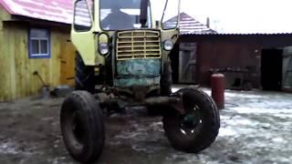 Пуск купленного трактора ЮМЗ 6!