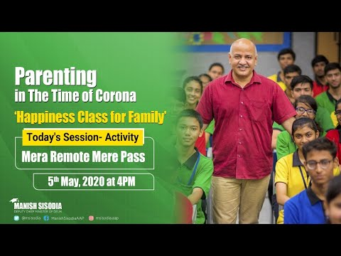 Activity - Mera Remote Mere Pass || Daily Happiness Class for Families ||