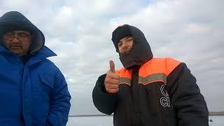 Зимняя рыбалке на веселовском водохранилище