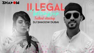 Illegal Weapon | Festival Mashup | DJ Shadow Dubai | Jasmine Sandlas Ft Garry Sandhu | Drop That Low