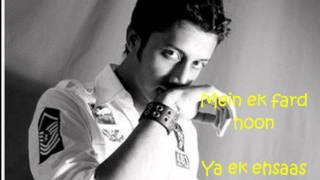 Atif Aslam-Ehsaas (freaky mix) lyrics