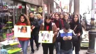 preview picture of video 'Özgecan Aslan Eylemi Malatya'