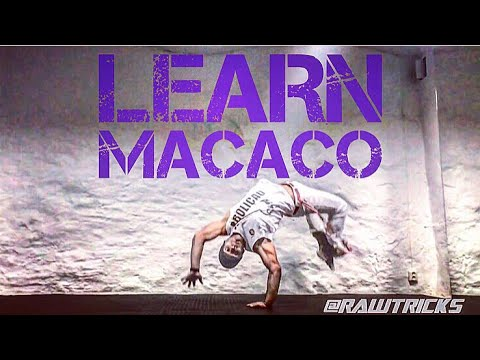 Learn Macaco 12 steps CAPOEIRA TUTORIAL