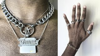 My Jewelry Collection | Choker Necklace, Rings, Bracelets, Pendants (Mens Fashion)