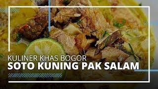 Mencicipi Kuliner Legendaris di Bogor Soto Kuning Pak Salam, yang Lezat