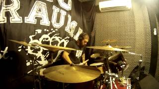 Marvin Tabosa - 36 crazyfists - Clear The Coast [Drum Cover] HD