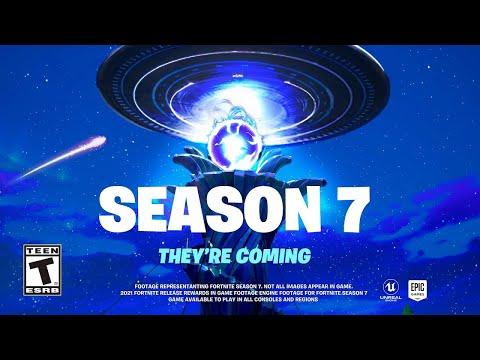 Fortnite Temporada 7 Trailer